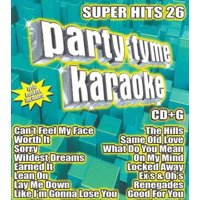 Party Tyme Karaoke: Super Hits 26 (CD)