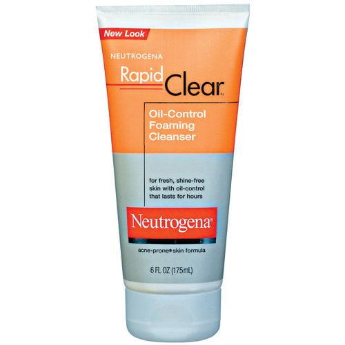 Neutrogena(R) Oil-Control Foaming Cleanser Rapid Clear(R) 6 Fl Oz