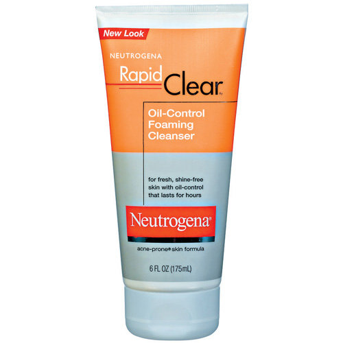 Neutrogena(R) Oil-Control Foaming Cleanser Rapid Clear(R) 6 Fl Oz