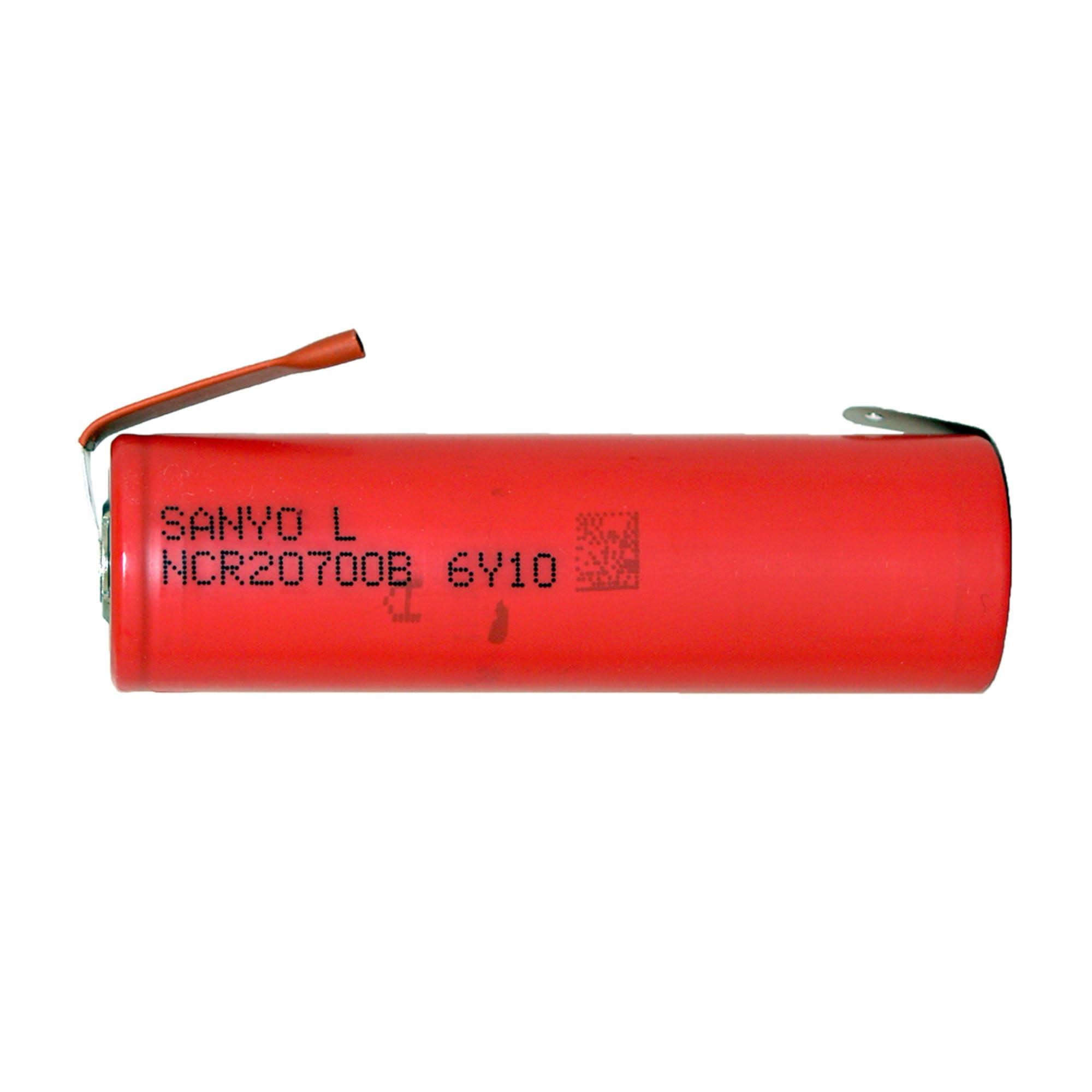 Sanyo / Panasonic 20700B 3.7V Lithium Ion Battery (4250 mAh) w/ Tabs - image 1 de 1
