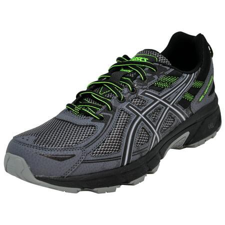 ASICS Men's Gel-Venture 6 Running Shoe Lime Green Running Shoes