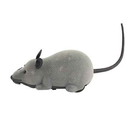 Zerone Wireless Remote Control RC Electronic Rat Mouse Mice Toy For Cat Puppy Xmas Gift, white,black,brown,gray Electronic Rat (Browns Rat Mouse)
