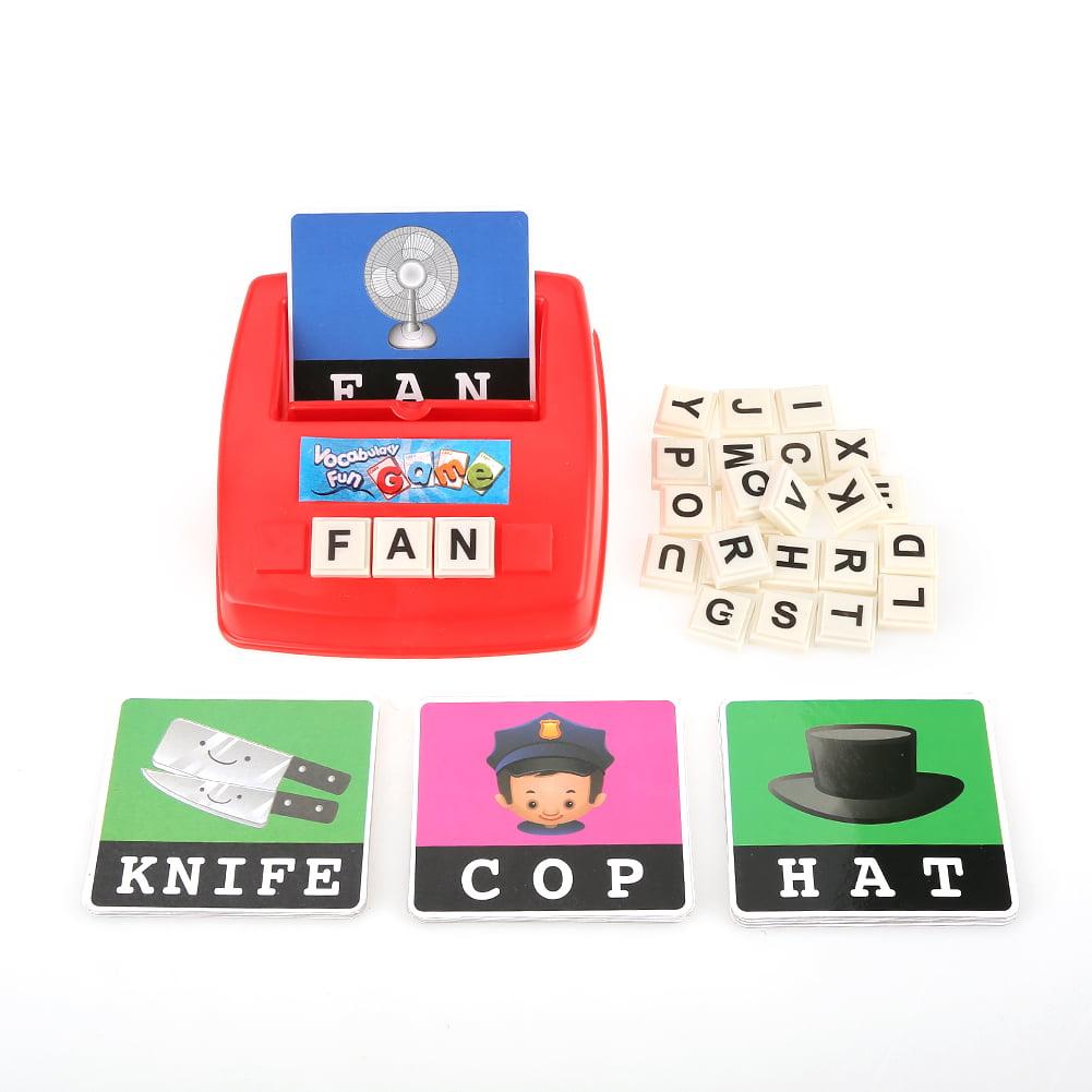 OTVIAP Letter Spelling Toy,Baby Kids Toddler English ...
