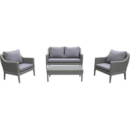 Incadozo Wicker Conversation Cushions