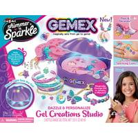 Cra-Z-Art Shimmer N Sparkle Gemex Gel to Gems Magic Shell Deals