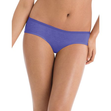 Hanes Womens Cotton Cool Comfort Hipster Panties 6 Pack