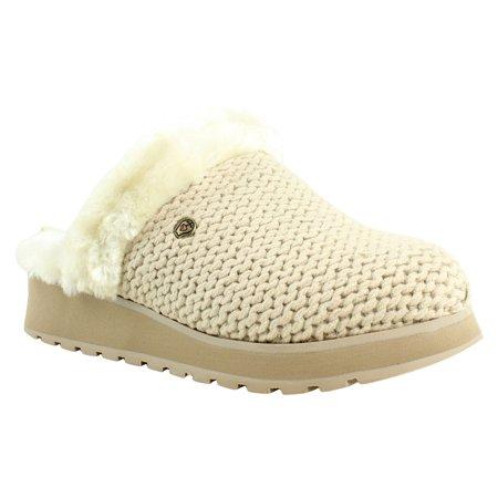 180a124911f7 Skechers - Skechers Womens Natural Scuffs   Mules Slippers Size 6 New -  Walmart.com