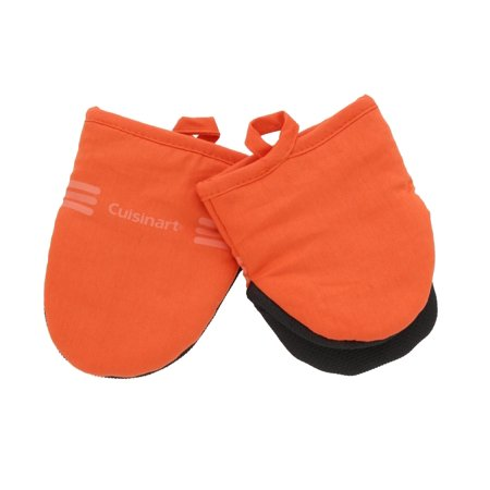 Simplicity Oven Mitt - Cuisinart Oven Mitts & Potholder Sets w/Neoprene for Easy Gripping, Heat Resistant up to 500 degrees F