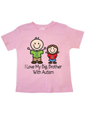 c0131ce7 Product Image I Love My Brother With Autism Toddler T-Shirt