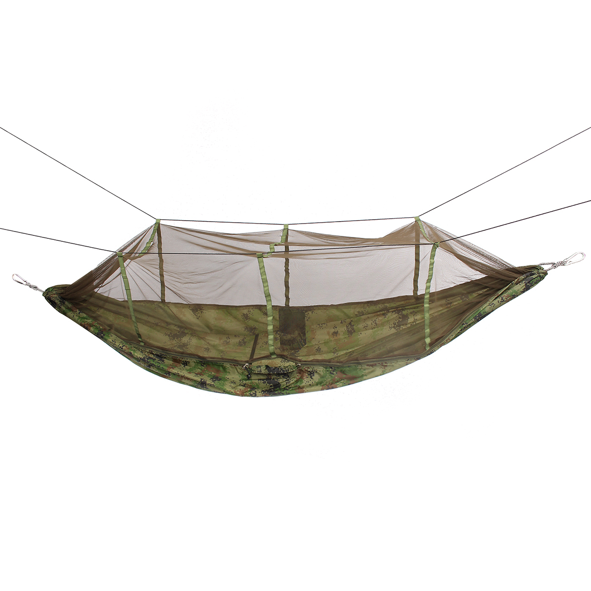 Double Person Travel Outdoor Camping Tent Hanging Hammock Folded Bed With Mosquito Net by