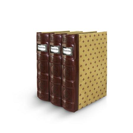 Bellagio-Italia Leather CD/DVD Storage Binder