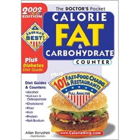 The Doctors Pocket Calorie, Fat & Carbohydrate Counter: 2002 Edition