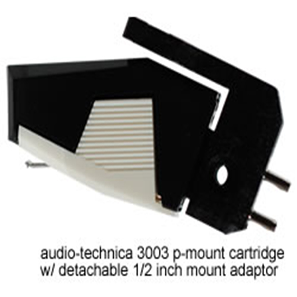 Audio-Technica T4P Pmount Studio 3003 Phono Cartridge with Universal Adaptor