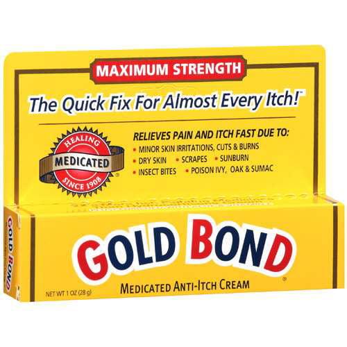 Gold Bond Maximum Strength Medicated Anti-Itch Cream, 1 oz