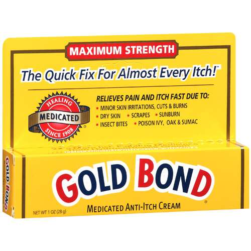 Gold Bond Maximum Strength Medicated Anti-Itch Cream, 1 oz