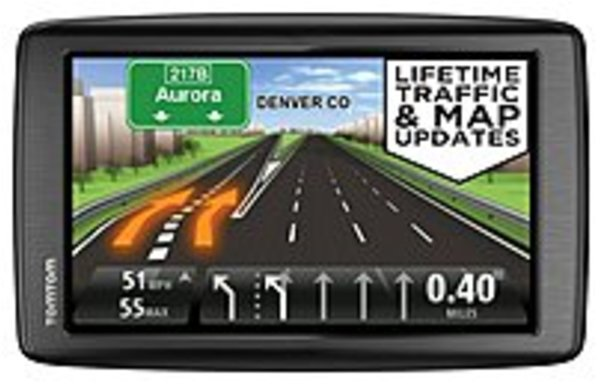 Refurbished TomTom VIA 1EN6.019.00 1605TM 6-inch Automotive GPS Receiver With Lifetime Maps U.S. States and Territories,... by TomTom