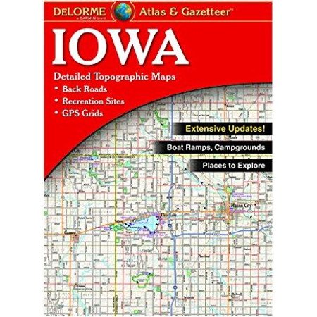 - Delorme Iowa Atlas & Gazetteer