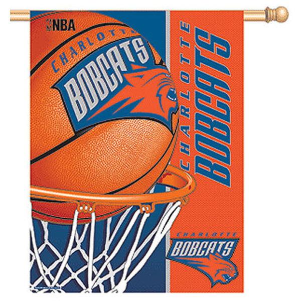 "Charlotte Bobcats 27""x37"" Banner WN-HouseP-CHARB"