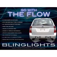 2007 2008 2009 Kia Rondo Rear Bumper Performance Aero Body Diffuser Exhaust Panels Kit