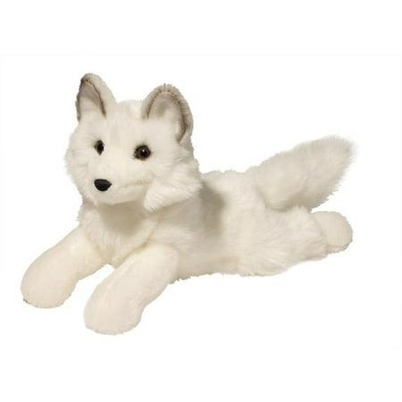 Arctic Fox - Yuki Arctic Fox 14 inch - Stuffed Animal by Douglas Cuddle Toys (1727)