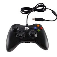 Generic Xbox 360 Wired Controller For Windows And Xbox 360 Console Black