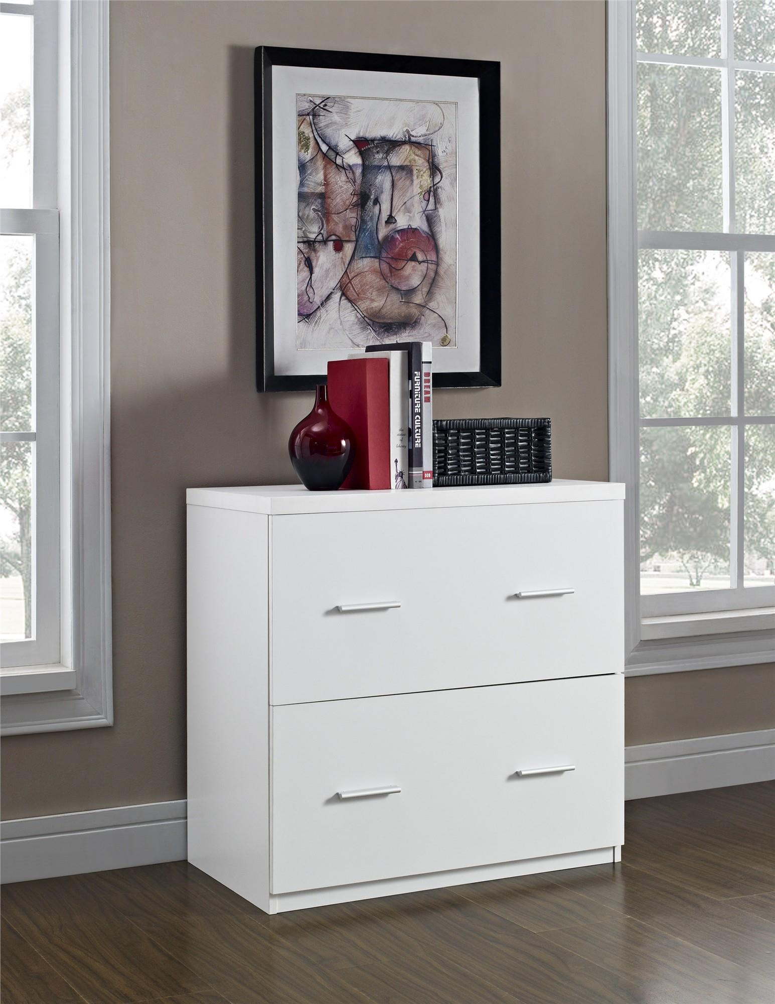 Altra Furniture Princeton 2 Drawer Lateral File Cabinet In Espresso    Walmart.com