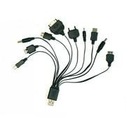Universal Mobile Phone Charging kit (12V car charger + 3-pin UK charger)