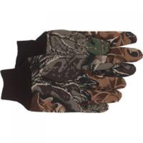 Boss Mfg Co 490 Glove Thinsulate Advantage Camo, Large