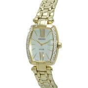 Seiko Women's SUP286 Tressia Analog Display Japanese Quartz Gold Watch