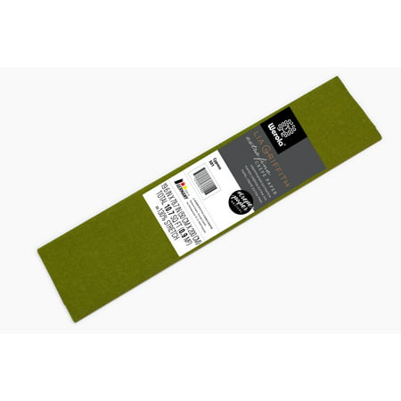 Lia Griffith Extra Fine Crepe Paper, Cypress Green Craft Paper - Crepe Paper Rolls