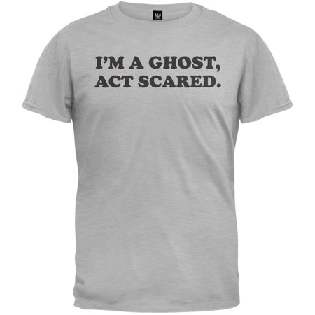 Halloween I'm a Ghost, Act Scared Youth T-Shirt](Halloween Scares Idea)