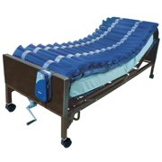 """Drive Medical Med Aire Low Air Loss Mattress Overlay System, with APP, 5"""""""