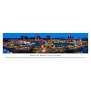 kansas city, missouri-the plaza - unframed blakeway panoramas print