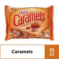Kraft Individually Wrapped Caramel Candy , 11 oz Bag