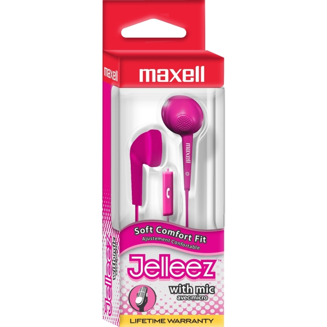 Maxell 191568 Jelleez with Microphone (Blue)