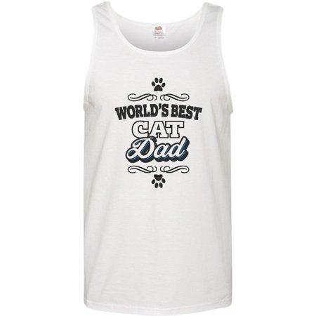 Worlds Best Cat Dad Men's Tank Top