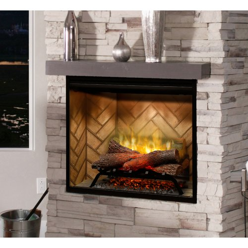 Dimplex Built-in Firebox Wall Mounted Electric Fireplace