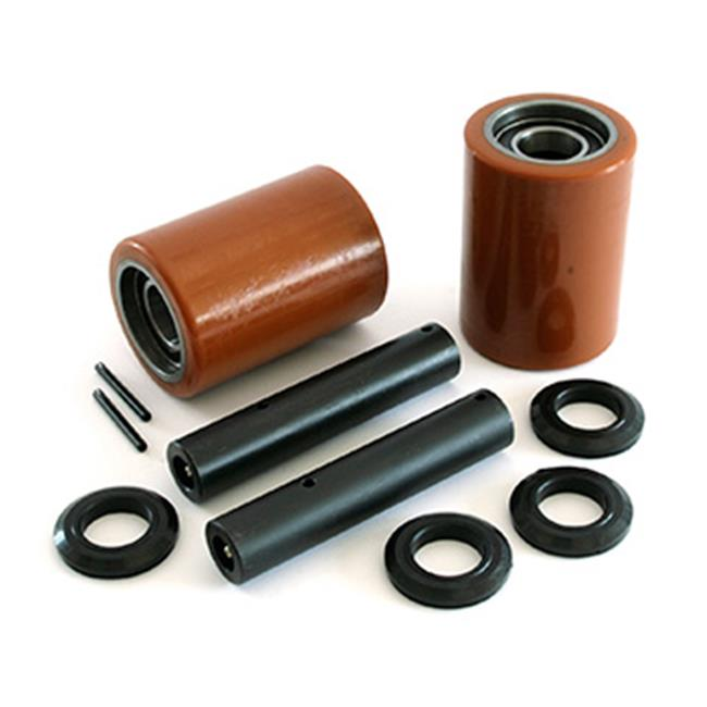 Crown GWK-WP2300-LW WP 2300 Load Wheel Kit for Electric Pallet Truck - Butterscotch