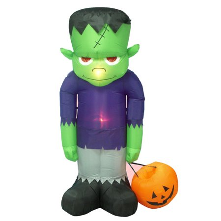 The Holiday Aisle Siegrist Inflatable Frankenstein Decoration for $<!---->