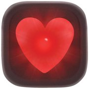 Knog Blinder 1 Hearts Rear Black Rear Red LED
