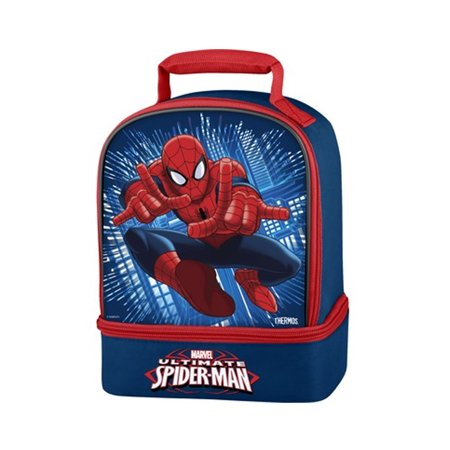 Ultimate Spiderman Thermos Dual Compartment Lunch