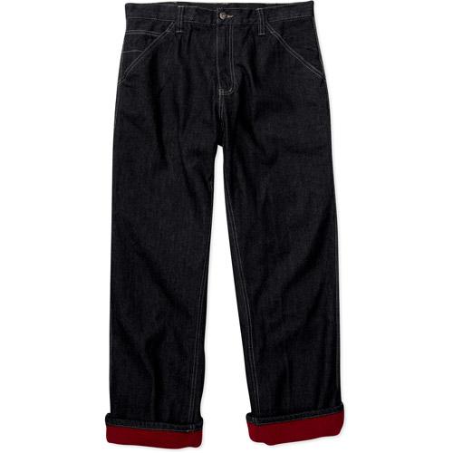 Faded Glory - Men's Fleece-Lined Carpenter Jeans - Walmart.com