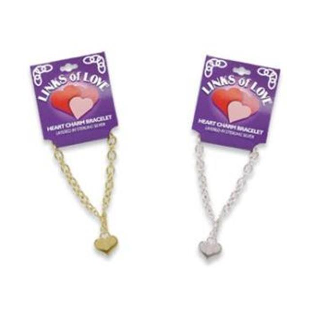 Bulk Buys Links of Love Bracelet Silver - Pack of 3