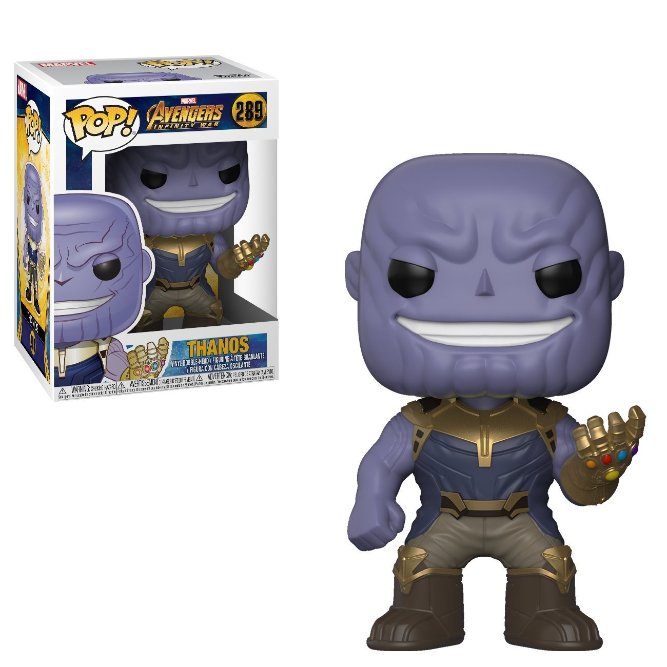 Funko Pop Marvel Avengers Infinity War Thanos Vinyl Action Figure