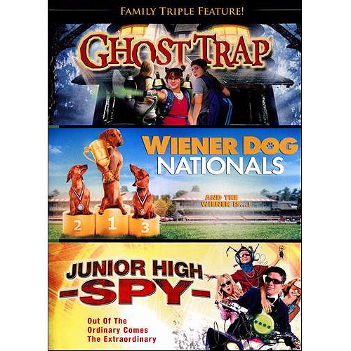 Family Triple Feature: Ghost Trap   Junior High Spy   Wiener Dog Nationals (Widescreen) by Inception Media Group