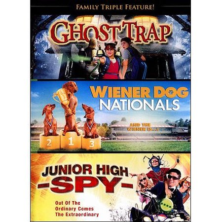 Family Triple Feature  Ghost Trap   Junior High Spy   Wiener Dog Nationals  Widescreen