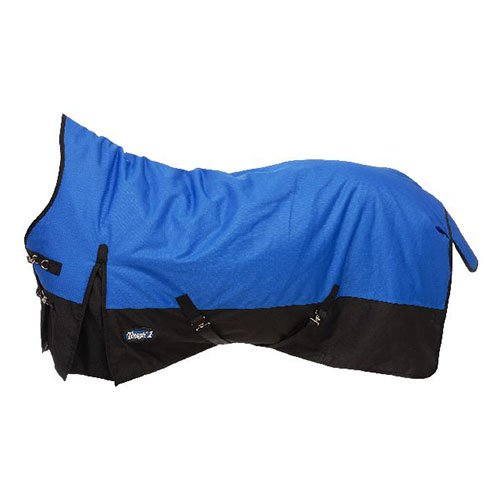 Tough-1 1200D Waterproof Poly High Neck Turnout Blanket