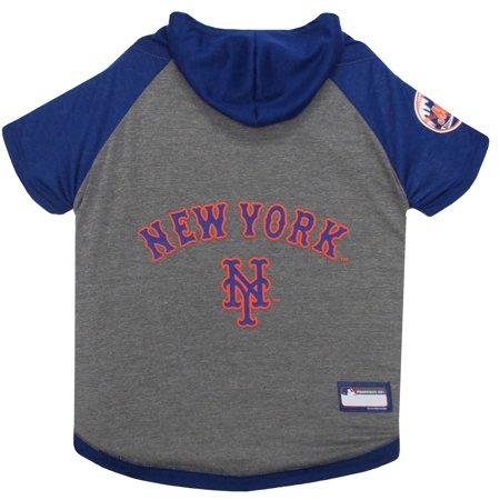 size 40 7db2e 8899d Pets First MLB New York Mets Hoodie Tee Shirt