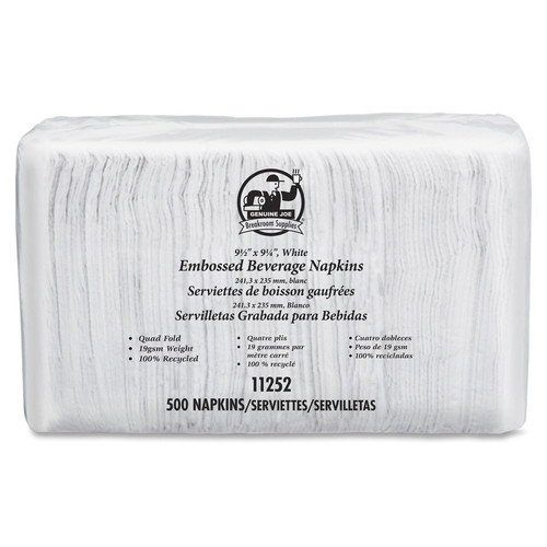 Genuine Joe Beverage Napkins (500 Pack)