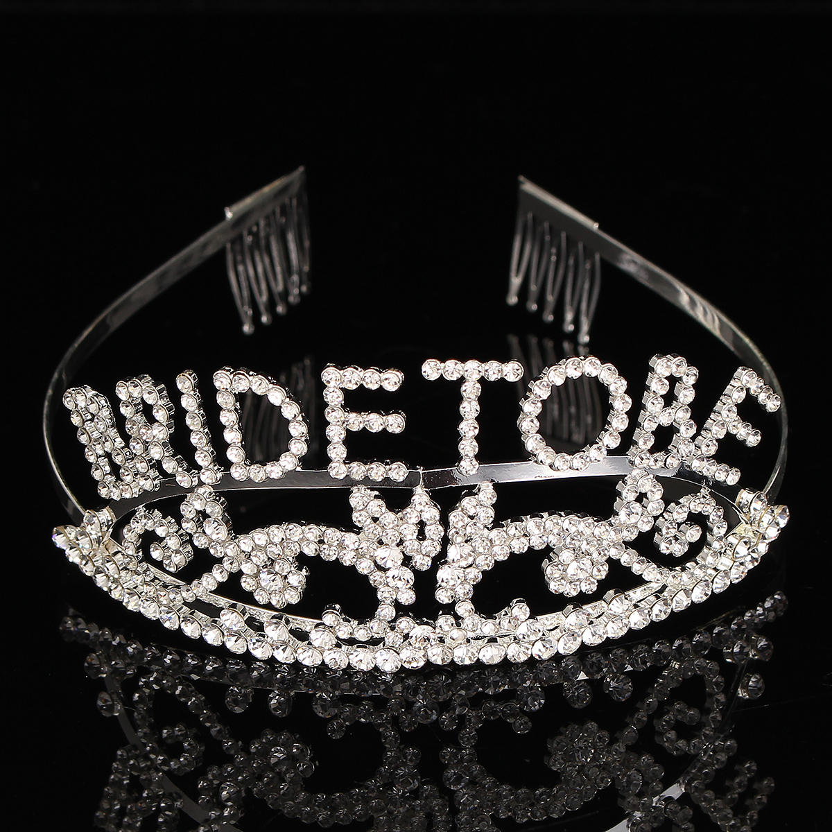 Bachelorette Sparkle tiara Hen Party Crown Bride to Be Bridal Shower Supply TO